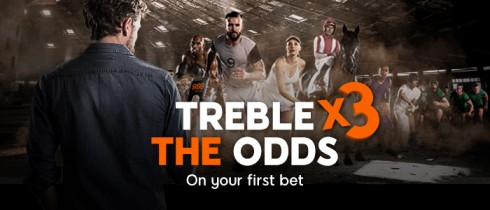 88 Sport – Treble Odds on First Bet