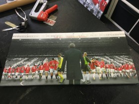 Manchester United Sir Alex Era Canvas