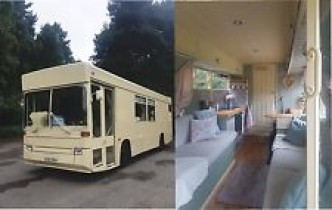 Converted Bus Conversion Camper Motorhome