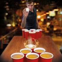 Giant Beer Pong XXL – Red