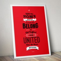 Manchester United – United Road Print
