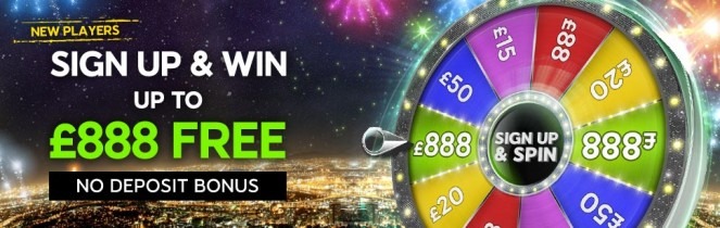 Spin & Win Up To £888 Free – 888 Casino